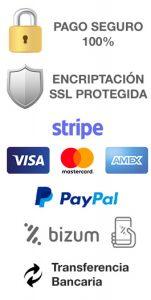 LLReal Abogados Consultas Online - Pago Seguro - Transferencia, Bizum, Tarjeta, PayPal